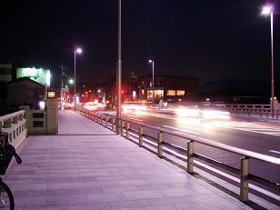 北大路橋の夜景