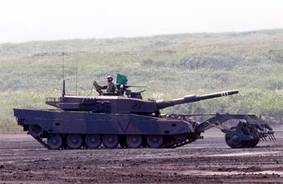 90式戦車(マインローラー)