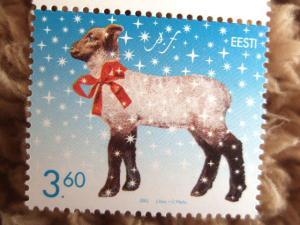 エストニアのクリスマス切手
