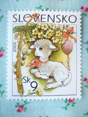 2005 スロバキアイースター切手