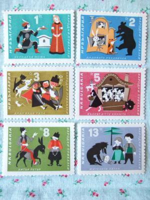 ブルガリアの童話切手
