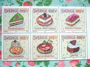 ケーキ切手
