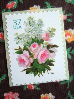 アメリカウェディング切手