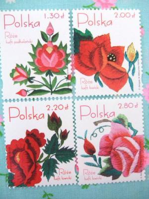 2006年ポーランド刺繍切手