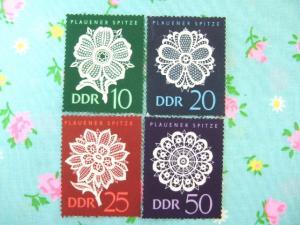 1974年DDRブラウエンレース切手