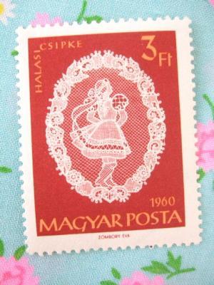 1960年ハンガリーハラスレース切手