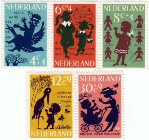オランダ児童福祉切手