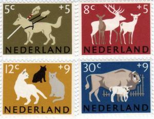 オランダ動物切手