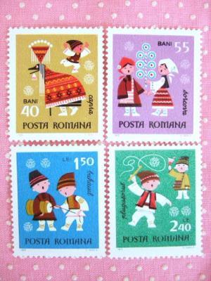 ルーマニア新年切手