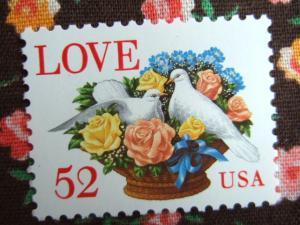 アメリカのLOVE切手