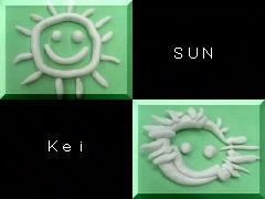 粘土アート・The Sun!
