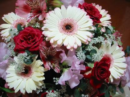 記念の花かご*