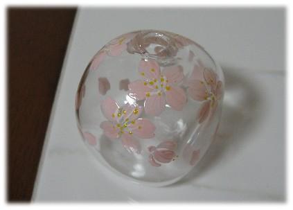 桜の一輪挿し