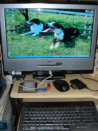 newパソコン(パパさんのおさがり)