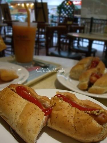 Cafe Du Mondeでブランチ