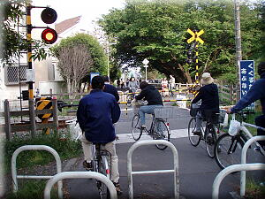 邪魔自転車