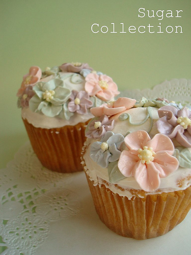 Flower Cup Cakes2