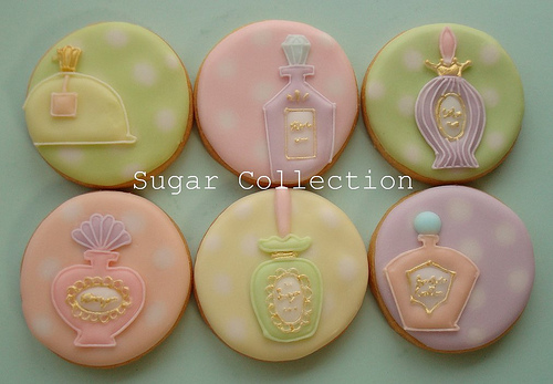 Perfume Bottle Cookies 4
