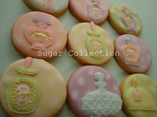 Perfume Bottle Cookies 2