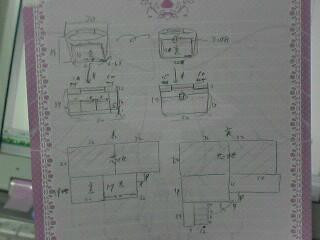 バッグインバッグ設計図