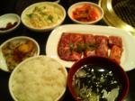 伽耶苑_サービス焼肉ランチ