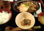 20070723合掌_牛肉豆腐定食