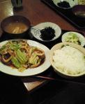 台北8_イカと野菜のピリ辛炒め