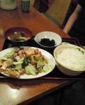 台北8_厚揚げと野菜肉炒め