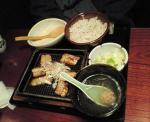 鳥元8_自然豚味噌付け焼定食