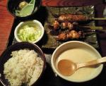 鳥元8_地鶏串焼定食