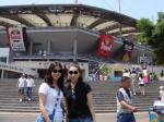 ワールドカップ競技場前
