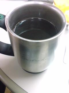 人参茶inコーヒー