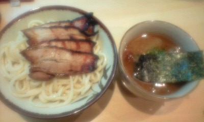 炙りチャーシューつけ麺