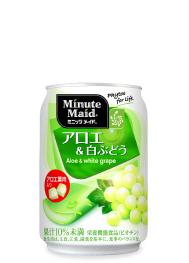 ミニッツメイド アロエ 白ブドウ 116Kcal