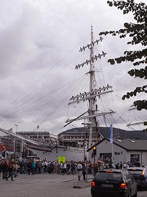 ベルゲン港 祭り02