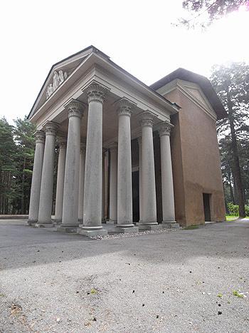 アスプルンド 森の墓地16