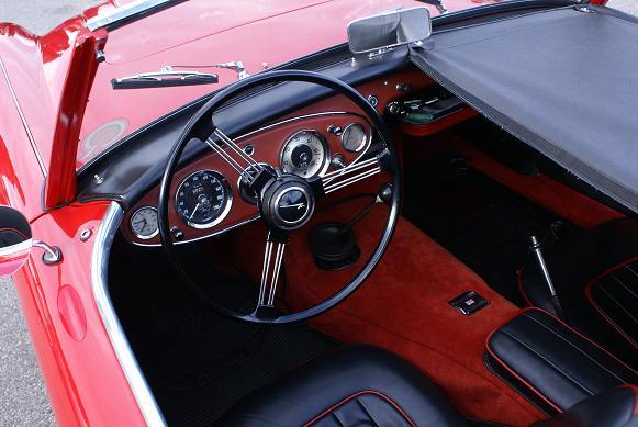 austin healey_cockpit