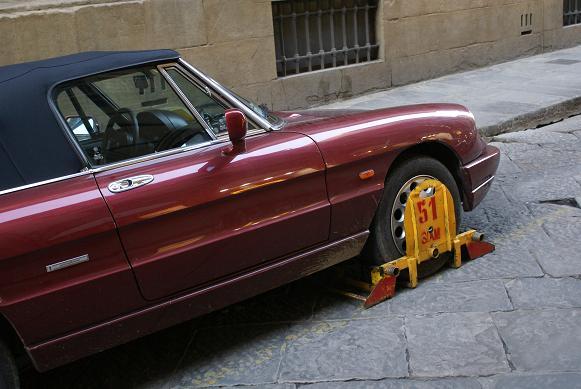 parcheggio in firenze