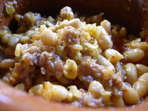 fagioli e salsiccia_done