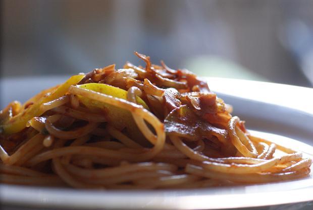 spaghettini con nokorimono_2011
