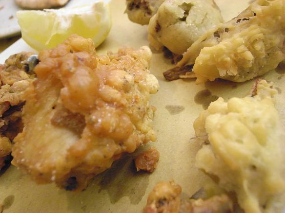 pollo fritto e carciofi2