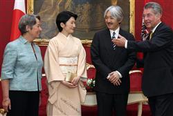 秋篠宮ご夫妻欧州訪問