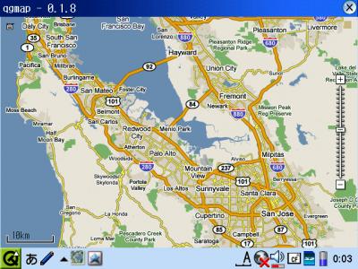 Googleマップをqgmapで表示