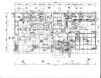 1階配線図