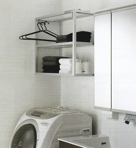 洗濯機上棚