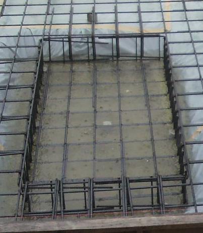 収納基礎浸水