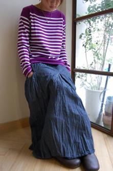 goro (ポケット付ロングスカート)