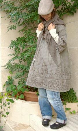 PAISLEY CROCHET DRESS