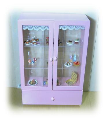 miniコレクション棚♪♪