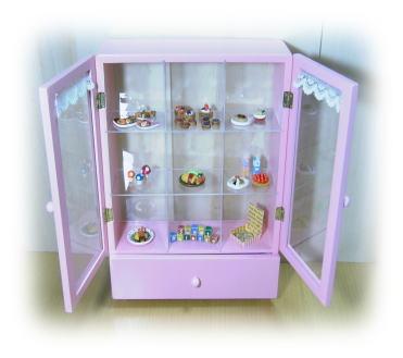 miniコレクション棚♪